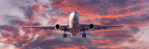 SJTI-Airplaine-Sunset