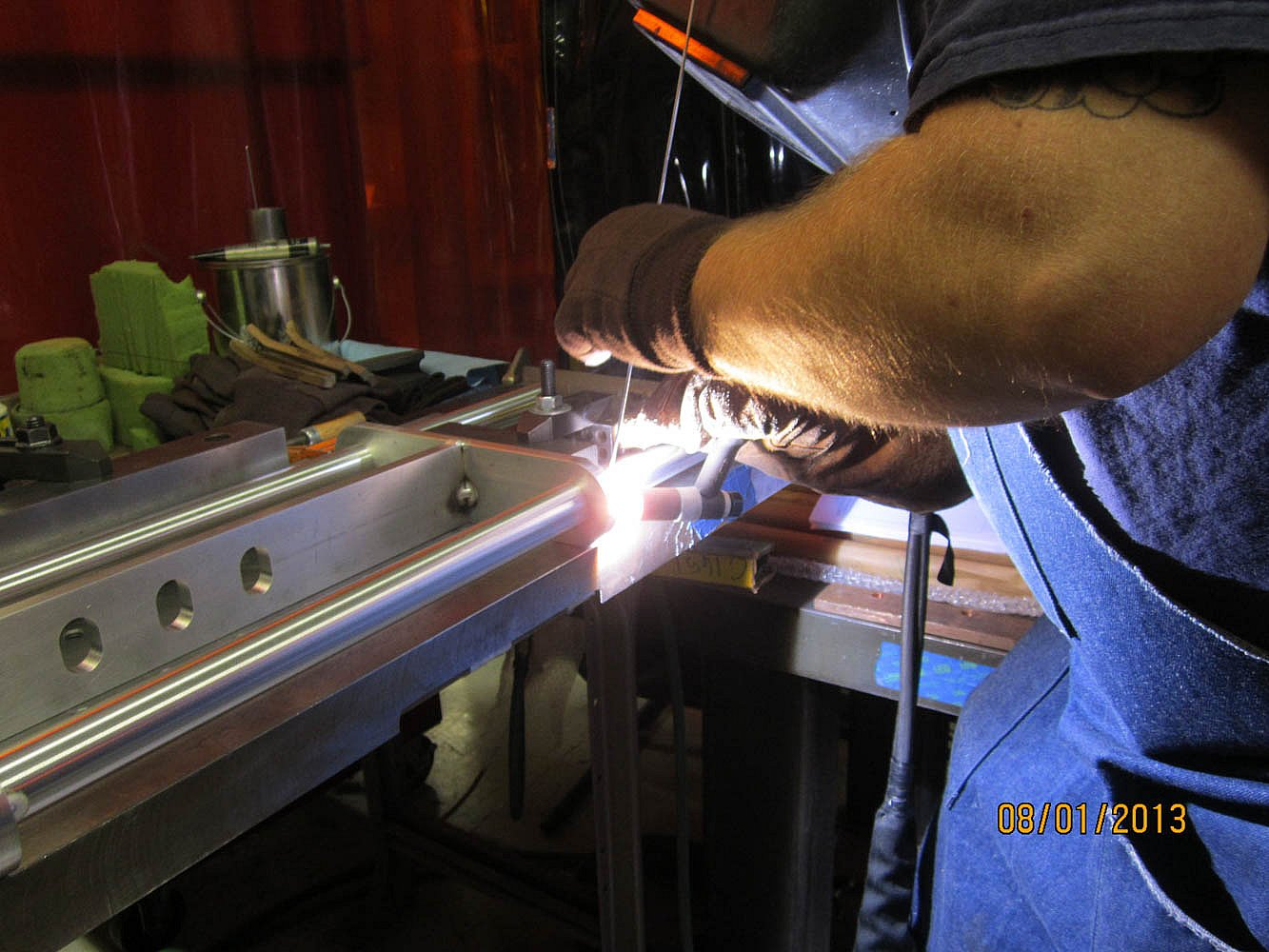Precision Welding Aluminum