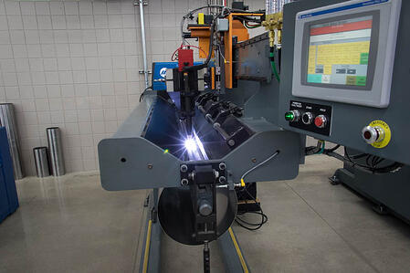 Longitudinal Seam Gas Tungsten Arc Welding (GTAW)